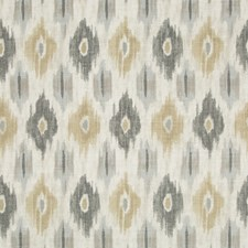 Beige/Grey/Taupe Ikat Drapery and Upholstery Fabric by Kravet