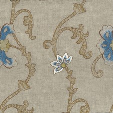 Bluebell Drapery and Upholstery Fabric by Stout