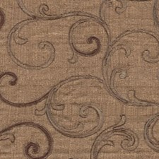 Dark Brown Drapery and Upholstery Fabric by RM Coco