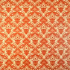 Burnt Ochre Drapery and Upholstery Fabric by Silver State