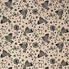 Charcoa Animal Drapery and Upholstery Fabric by Lee Jofa