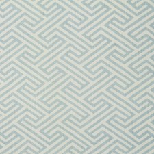 Blue/Offwhite Transitional Drapery and Upholstery Fabric by JF