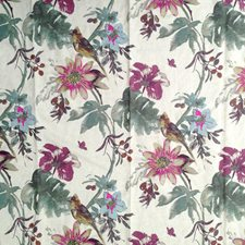 Grape Wine Drapery and Upholstery Fabric by RM Coco
