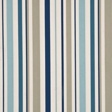 Indigo/Teal/Stone Drapery and Upholstery Fabric by Baker Lifestyle