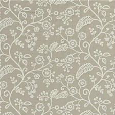 Linen Embroidery Drapery and Upholstery Fabric by Baker Lifestyle