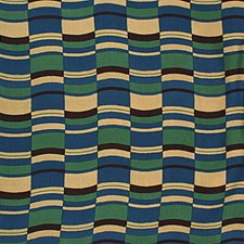 Blue/Brown Weave Drapery and Upholstery Fabric by G P & J Baker
