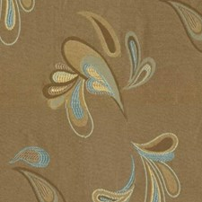 Sky Taupe Drapery and Upholstery Fabric by RM Coco