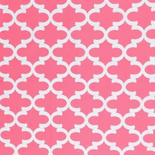 Candy Pink Drapery and Upholstery Fabric by RM Coco