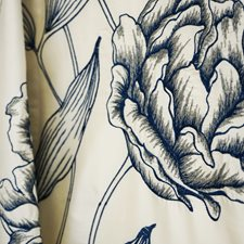 Blue/Grey/Silver Transitional Drapery and Upholstery Fabric by JF
