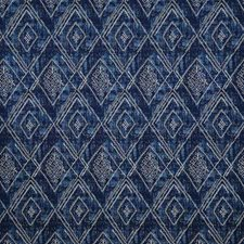 Navy Damask Drapery and Upholstery Fabric by Pindler
