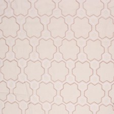 Champagne/White Drapery and Upholstery Fabric by RM Coco