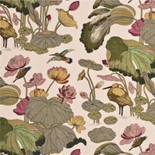 Biscuit/Taupe Print Drapery and Upholstery Fabric by G P & J Baker