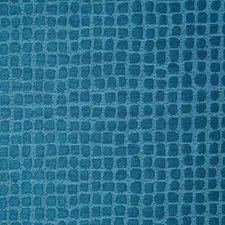 Cyan Drapery and Upholstery Fabric by Pindler