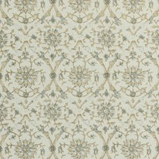 White/Beige/Grey Botanical Drapery and Upholstery Fabric by Kravet