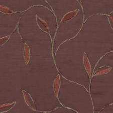 Brown/Rust Drapery and Upholstery Fabric by RM Coco