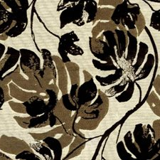 Black Mink Drapery and Upholstery Fabric by RM Coco