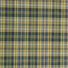 Green/Blue/Light Green Plaid Drapery and Upholstery Fabric by Kravet