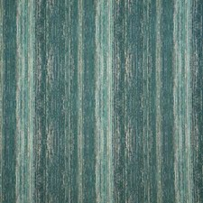Turquoise Stripe Drapery and Upholstery Fabric by Pindler