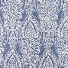 Indigo Drapery and Upholstery Fabric by Scalamandre