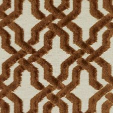 Rattan Geometric Drapery and Upholstery Fabric by Duralee