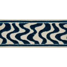 Braids Blue Trim by Brunschwig & Fils