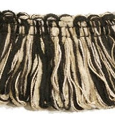 Loop Fringe Black/Beige Trim by Kravet