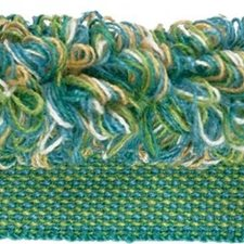 Rouche Turquoise Trim by Kravet