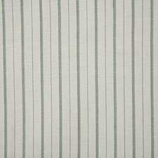 Celadon Stripe Drapery and Upholstery Fabric by Pindler