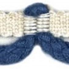 Loop Fringe Blue Trim by Baker Lifestyle