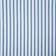 Blue Stripe Drapery and Upholstery Fabric by Pindler