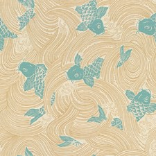Lagoon Asian Drapery and Upholstery Fabric by Kravet