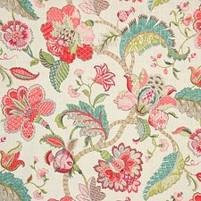 Raspberry Traditional Drapery and Upholstery Fabric by Pindler