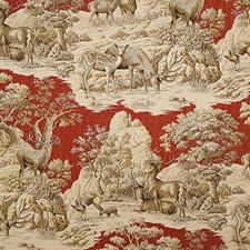 Garnet Print Drapery and Upholstery Fabric by Pindler