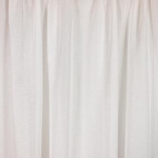 Evening White Drapery and Upholstery Fabric by RM Coco