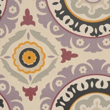 Onyx/Lilac Drapery and Upholstery Fabric by RM Coco