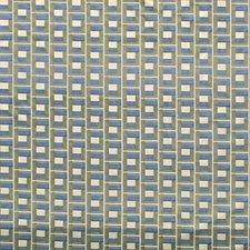 Green/Blue Drapery and Upholstery Fabric by Scalamandre