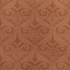 Cinnamon Damask Wallcovering by Stroheim Wallpaper