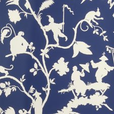Blue/White Asian Wallcovering by Stroheim Wallpaper