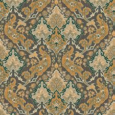 Ginger/Charcaol Print Wallcovering by Cole & Son Wallpaper
