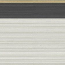 Linen Black/Gold Borders Wallcovering by Cole & Son Wallpaper