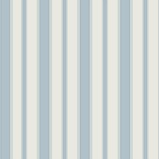 Pale Blue Stripes Wallcovering by Cole & Son Wallpaper