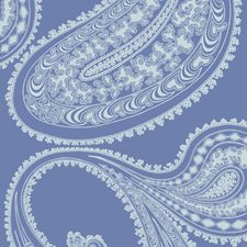 Blue/White Sidewall Wallcovering by Cole & Son Wallpaper