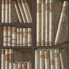 Oat/Charcoal Print Wallcovering by Cole & Son Wallpaper