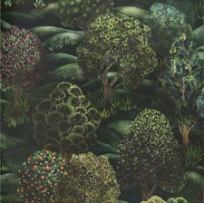 Forest Greens Print Wallcovering by Cole & Son Wallpaper