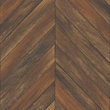 Chestnut Geometric Wallcovering by Brewster