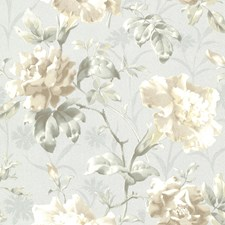 Light Blue Transitional Wallpaper Wallcovering by Brewster