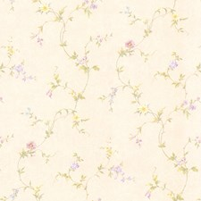 414-65765 Connie Cream Small Floral Trail by Brewster