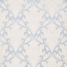 Blue Print Pattern Wallcovering by Fabricut Wallpaper