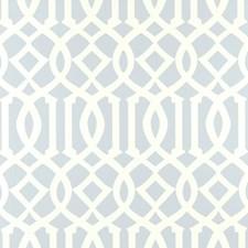 Soft Aqua Wallcovering by Schumacher Wallpaper