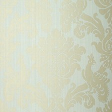 Robin's Egg Wallcovering by Schumacher Wallpaper
